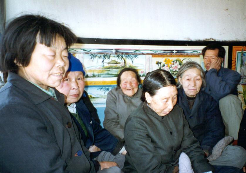 Elderly at Wang Hua Zhuang Vlg Shouzou, Shanxi-min