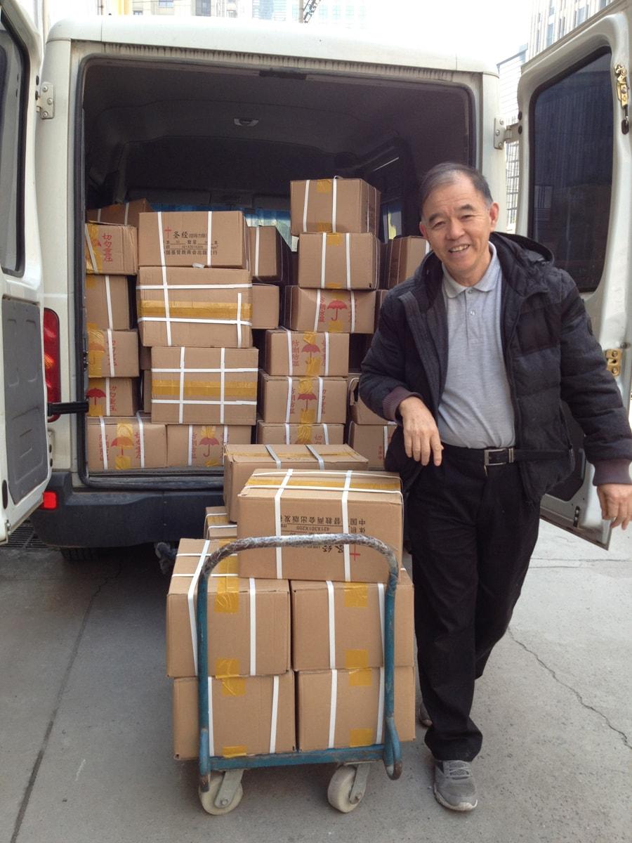 Sonny Van load of Bibles-min