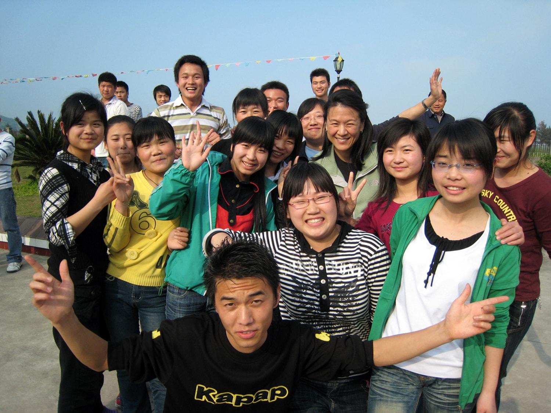 Training center - Tina and students-min